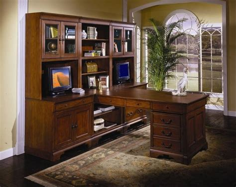 desk wall unit combinations advancing technology changing the look of home office