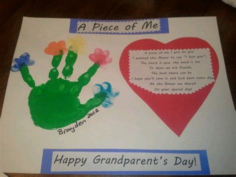christmas craft for grandparents grandparent s day craft from my preschoolers s ideas grandparents day