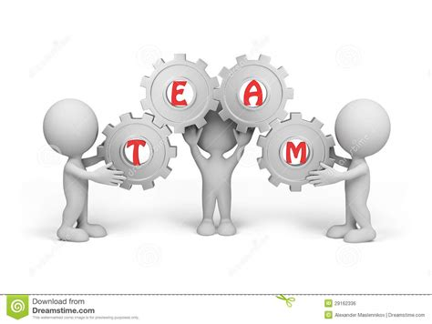Three On A by 3d Person Team Royalty Free Stock Image Image 29162336