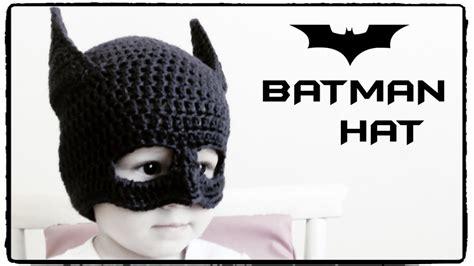 bat pattern youtube how to crochet batman hat all sizes crochet lovers