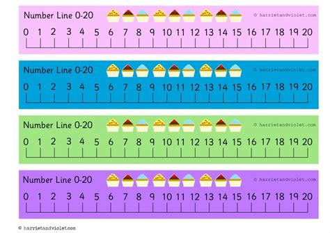 printable number line up to 20 number line 0 20 new calendar template site
