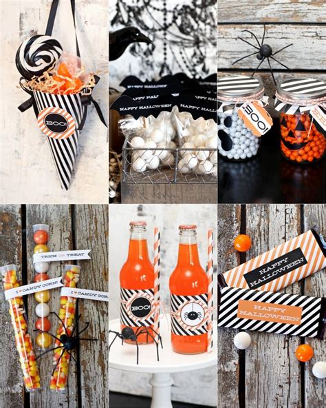 halloween party themes halloween cupcake toppers eighteen25