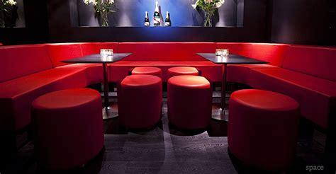 red sofa lounge style bar restaurant interior red sofa
