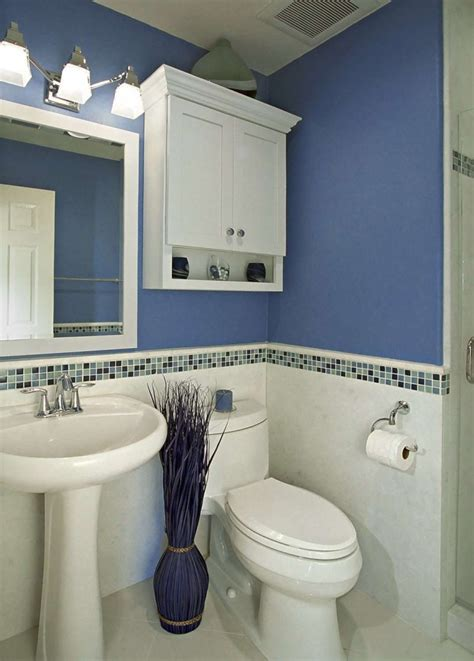 smart bathroom ideas bathroom mosaic backsplash tile idea feat stylish blue