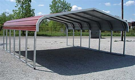 Portable Aluminum Carport Portable Carport Benefits Types And Costs Garage Triage