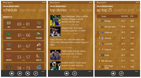 bing sports our top windows phone apps for keeping up with march