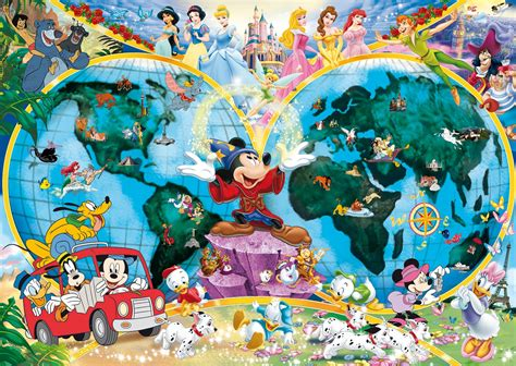 Disney Printable Jigsaw Puzzles | disney world map puzzle fabulous fun for the whole