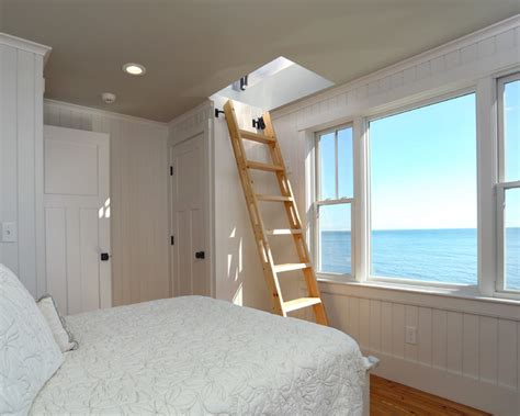 beach house style bedroom small beach house lives big beach style bedroom boston by encore construction