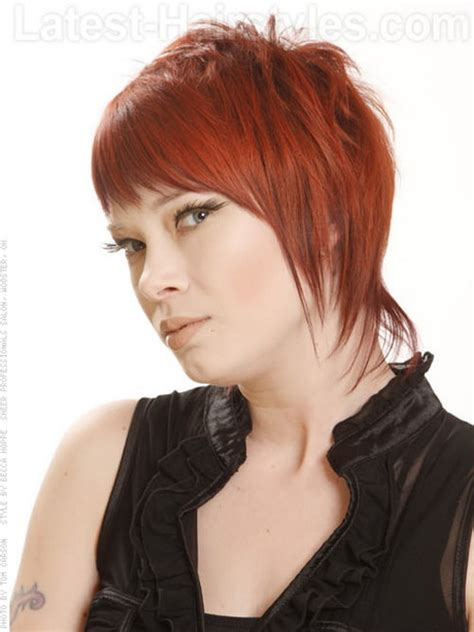 pics haircut side mullet short mullet hairstyles for women