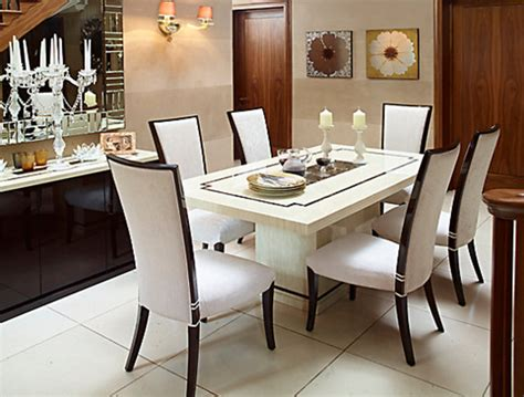 Dining Room Furniture Sets Uk 7 Beautiful White Rectangular Table Sets For Everyday Use
