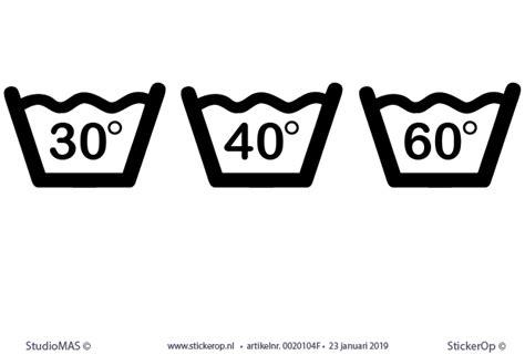 wasvoorschriften wassen op     graden