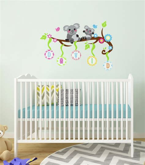 nursery personalized name decals