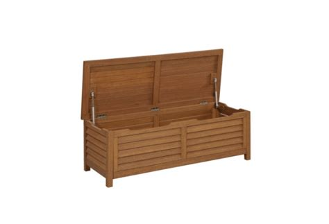 home depot outdoor storage bench 10 easy pieces outdoor storage benches gardenista