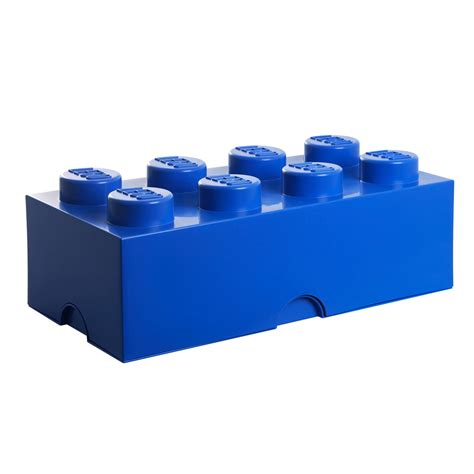 blue lego brick storage brick 8 by lego in the home design shop