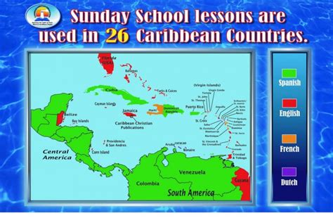 speaking countries in the caribbean caribbean speaking countries map images