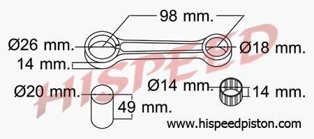 347 Stang Seher Piston Suzuki daftar connecting rod stang seher motor yamaha seputar