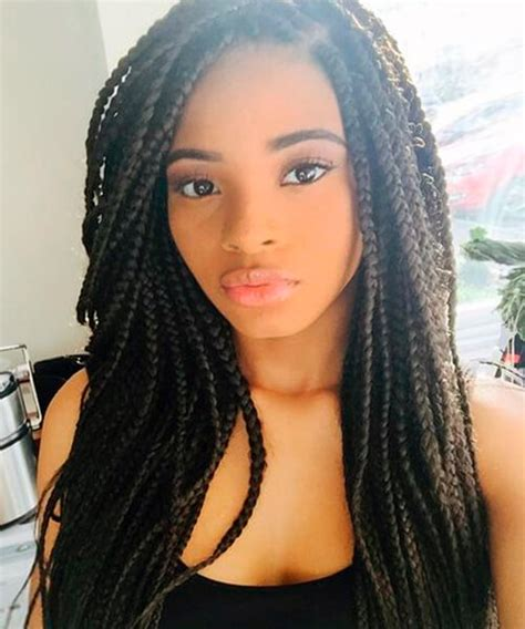 african american box twist braids and twists natural hairstyles for african american women and girls