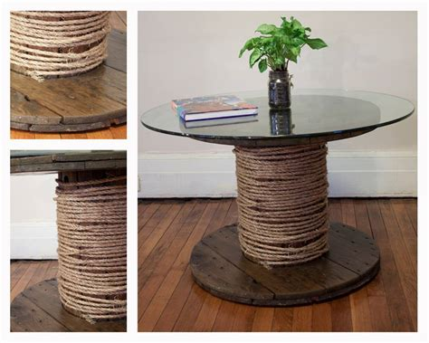 detroit remade spool coffee table