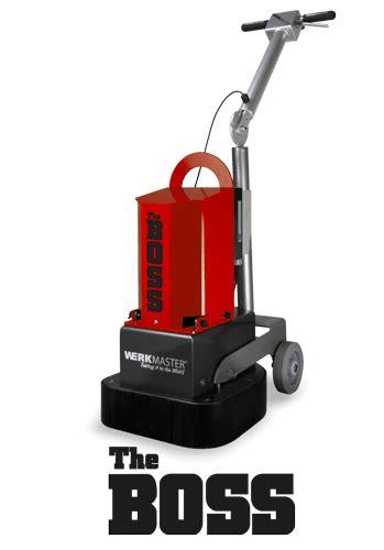 Floor Grinding & Polishing Equipment Manufacturer   WerkMaster
