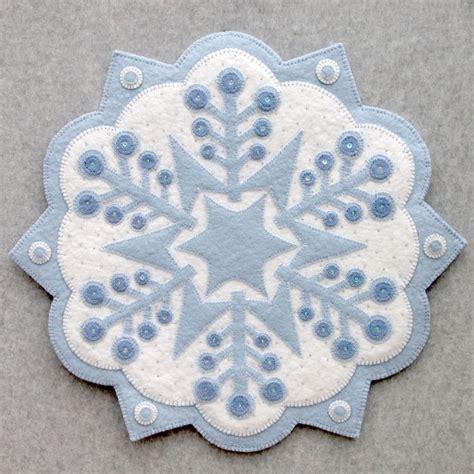 patterns for snowflake wool free wool felt applique designs snowflake 2 18 applique