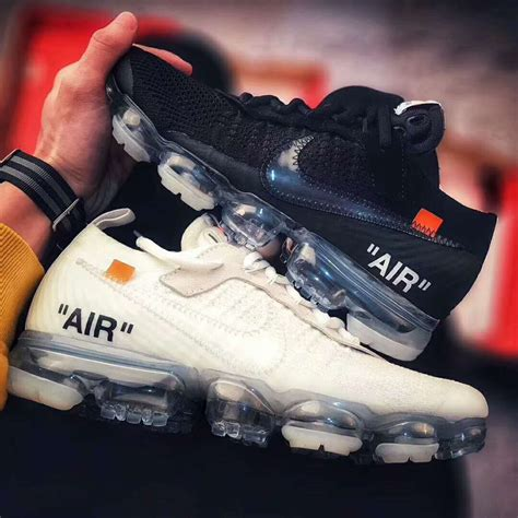Offwhite Abloh Keith virgil abloh the ten white x nike air vapormax black