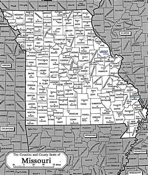 missouri map cities and counties county map of missouri