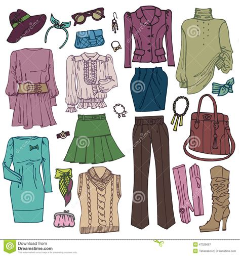 Fall Winter Accessories To Die For fashion sketchy womans clothing and accessories stock