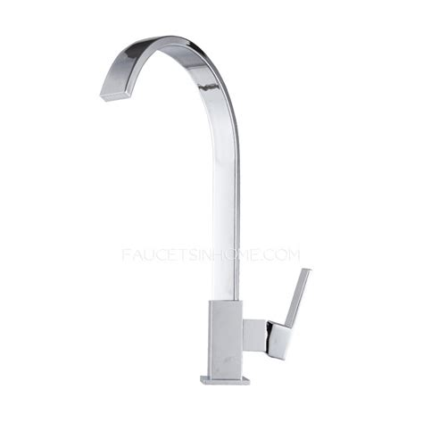 designer faucets kitchen designer goose neck rotatable brass kitchen faucets