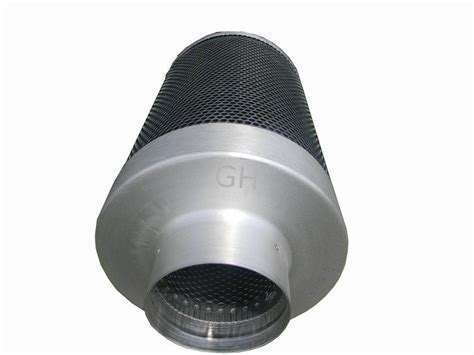 carbon air filter 6 quot activated carbon air filter odor removal charcoal air filter growshopchina