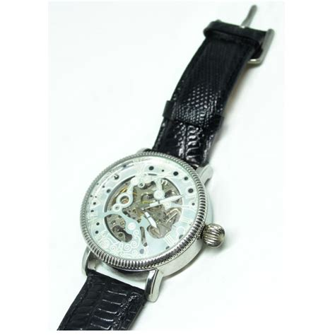 Oulm Mechanical Analog Quartz Leather Band oulm mechanical analog quartz leather band fashion 3144 white silver