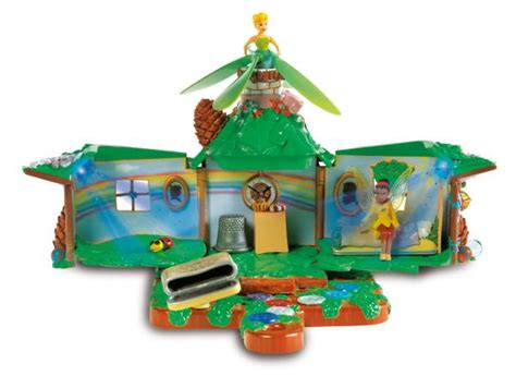 House Playset Limited house playset with flying tinkerbell toys zavvi