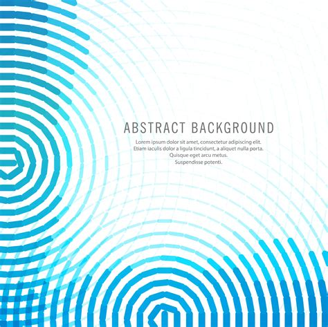 abstract blue circular lines background