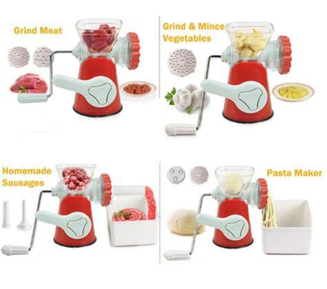 Grinder Alat Giling Daging Manual Penggiling Buah Sayur Alat Penggiling Daging Sayur Buah Grinder Gratis