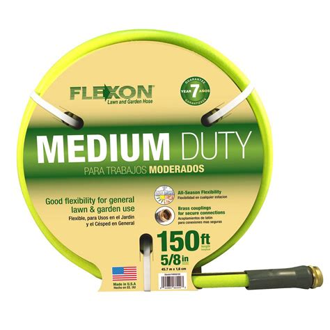 flexon      ft medium duty reel hose