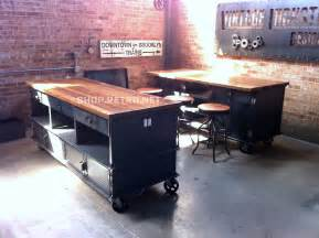 industrial kitchen islands vintage industrial kitchen island antique by