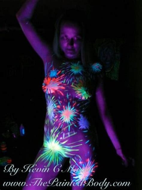 glow in the dark tattoo sydney 17 best images about uv blacklight paint on pinterest