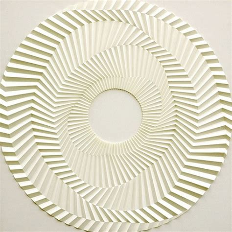 Paper Folding Styles - liam thinks artist creates mesmerizing geometric