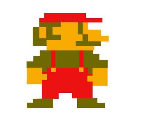 Pixelated Mario Characters Pixel Mario By Finalgamers 2012 On Deviantart
