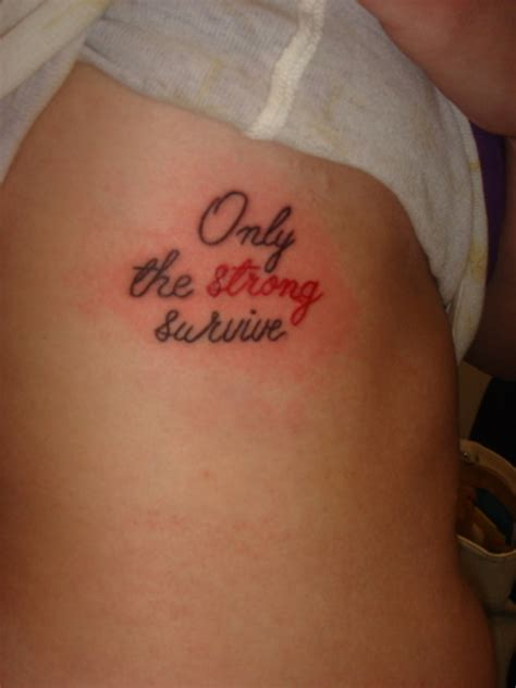 only the strong survive tattoo only the strong survive picture at checkoutmyink