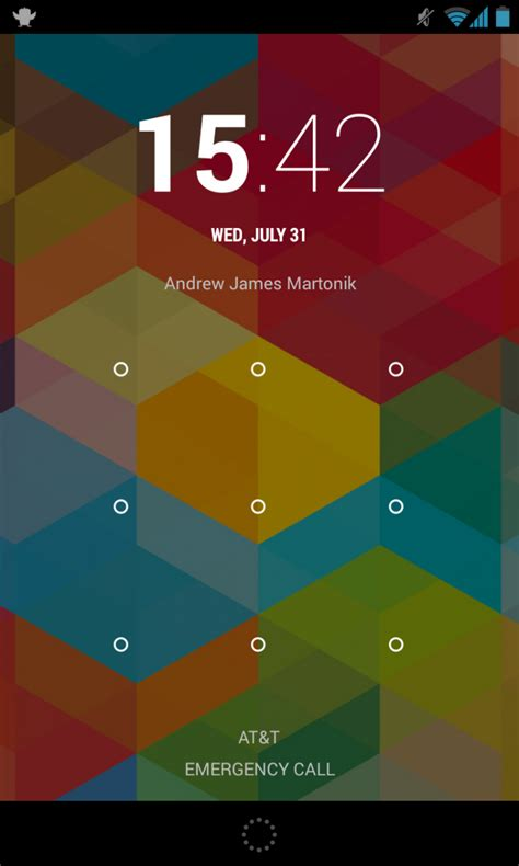 android lock screen android 4 3 s subtle and delightful feature a smart status bar clock android central