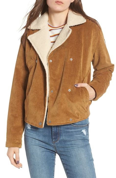 Corduroy Fleece Lined Jacket this corduroy jacket needs to be in your fall wardrobe