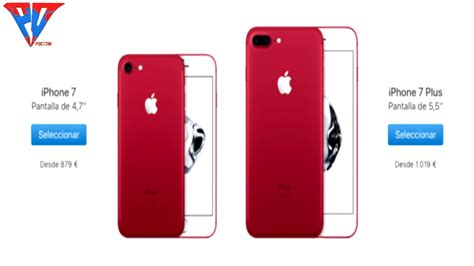 Y Iphone 7 by Nuevos Iphone 7 Y 7 Plus Color Rojo Iphone Imagenes