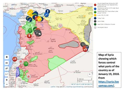 syria live map turkey in syria and more