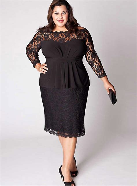 fall styles for full figure fall cocktail plus size dresses 2018 pluslook eu collection