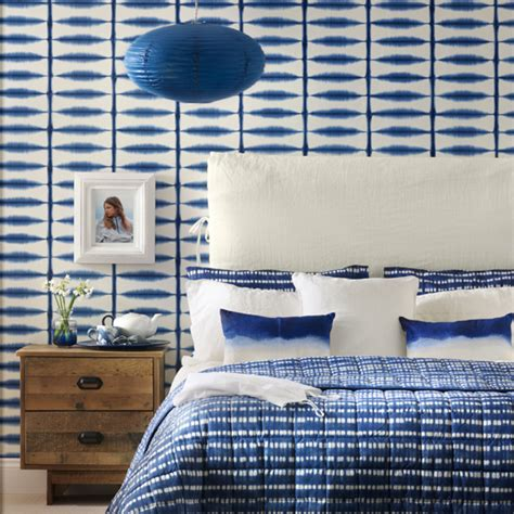 blue patterned bedding uk 4 ways to decorate with inky blue ideal home
