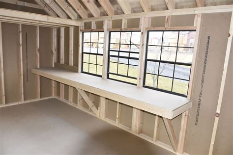 Workbenches For Sheds by Shed Flooring Options