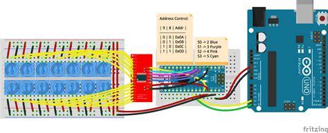javascript robotics expander cd74hc4067 16 channel