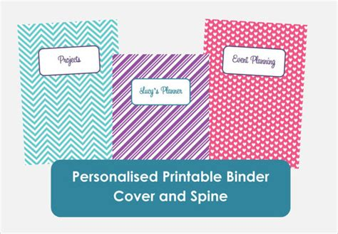 Sle Binder Spine Template 5 Documents In Pdf Psd Free Binder Cover And Spine Templates