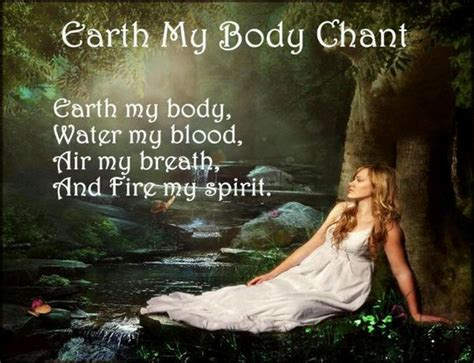 Breath Of Earth Blood Of Earth earth my chant earth my water my blood air