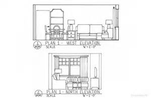 Bedroom house floor plans and bedroom sketch drawing under 3d house